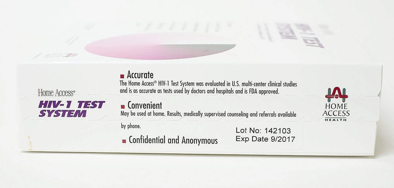 Amazon.com: Access HIV-1 Test System - At-Home Test For The HIV ...