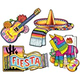Ddi Fiesta Cutouts (Pack Of 60)