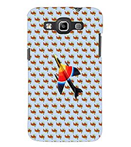 PrintDhaba Aeroplane D-3681 Back Case Cover for SAMSUNG GALAXY WIN i8552 (Multi-Coloured)