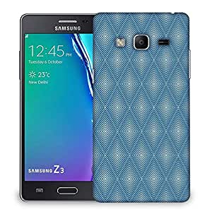 Snoogg Blue Pattern Designer Protective Phone Back Case Cover For Samsung Galaxy Tizen T3