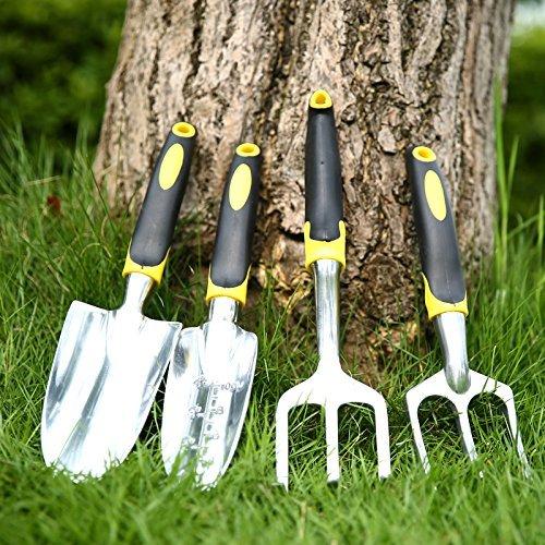 Geepro trowel cultivator and transplanter garden tool set for Garden trowels for sale