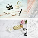 Selens 22x35 Inch (56x88cm) Double Sided of Cracked Marble Texture Background Flat Lay Tabletop Photography Backdrop for Food, Jewelry, Cosmetics, Small Product, Photo Pros and More (Color: Marble)
