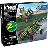 K'NEX - Revvin' Racecar 2-in-1 Building Set - 370 Pieces - Ages 7 - Engineering Educational Toy