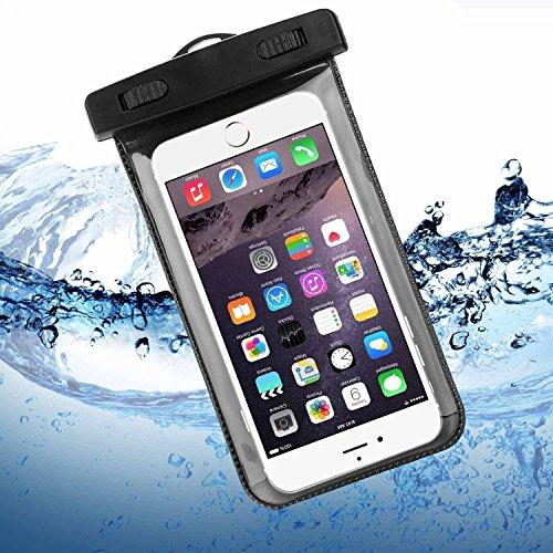 iPhone 6 / 6S Wasserdichte Hülle, Bingsale Wasserdichte Case Tasche Hülle Beachbag fur iPhone 6S Plus 6S iPhone 6 Plus 6 5S 5 Samsung Galaxy S6 S6 Edge S5 S4 Unterwasser Hülle mit Handy 4,0  5,5