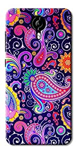 DigiPrints High Quality Printed Designer Soft Silicon Case Cover For Micromax Nitro 4G E455
