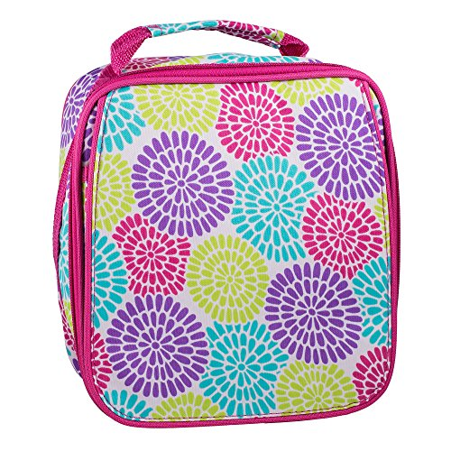 Insulated Water Resistant Lunch Bag (Bloom) - 1