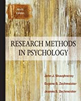 Research Methods In Psychology, 9th Edition