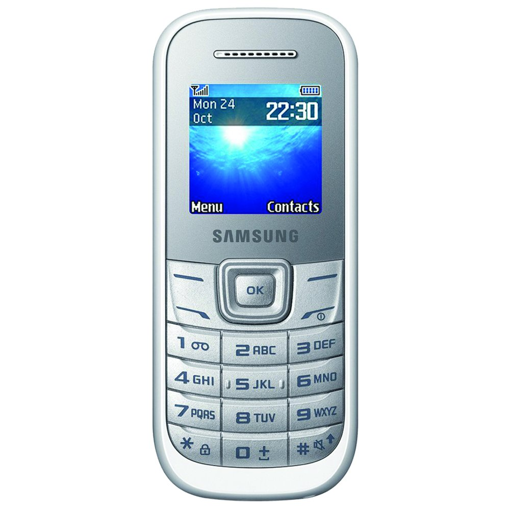 T�l�phone GSM SAMSUNG E1200 BLANC