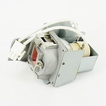 haiwo 5J.J9V05.001Projecteur de haute qualité compatible Ampoule de rechange avec boîtier pour projecteur BenQ MS619ST/MX620ST.