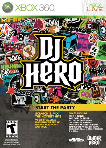 DJ Hero Stand Alone Software -Xbox 360