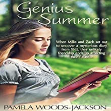 Genius Summer (       UNABRIDGED) by Pamela Woods-Jackson Narrated by Danielle Brown