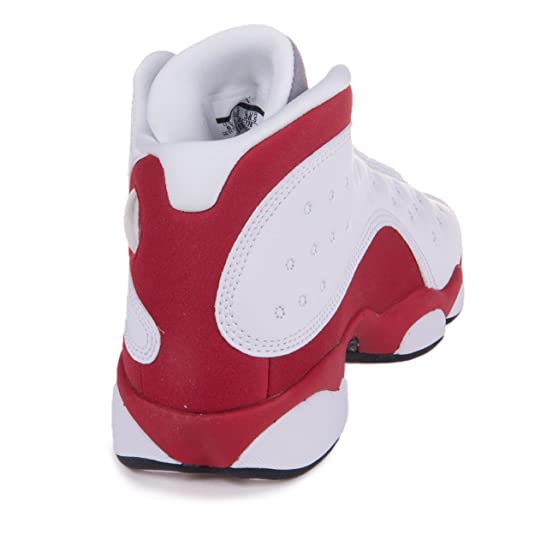 best website 61d60 e9d30 Amazon.com  Nike Air Jordan 13 Retro (GS) Grade School sizes   Squadron  Blue   414574-405  Shoes  Shoes