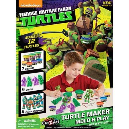 Teenage Mutant Ninja Turtles Turtle Maker Mold and Play Activity Set (Ninja Turtle Dough compare prices)