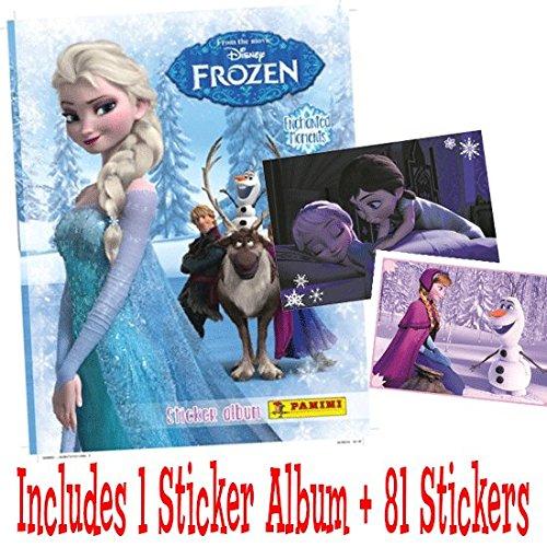 Panini Disney Frozen enchanté moments Sticker Pack de démarrage (1 album et 81 stickers)