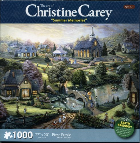 The Art of Christine Carey Summer Memories 1000 Piece Puzzle