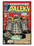 TV Gloss Black Framed Doctor Who The Daleks No Power In The Universe Can Stop Them Poster 61x91.5cm