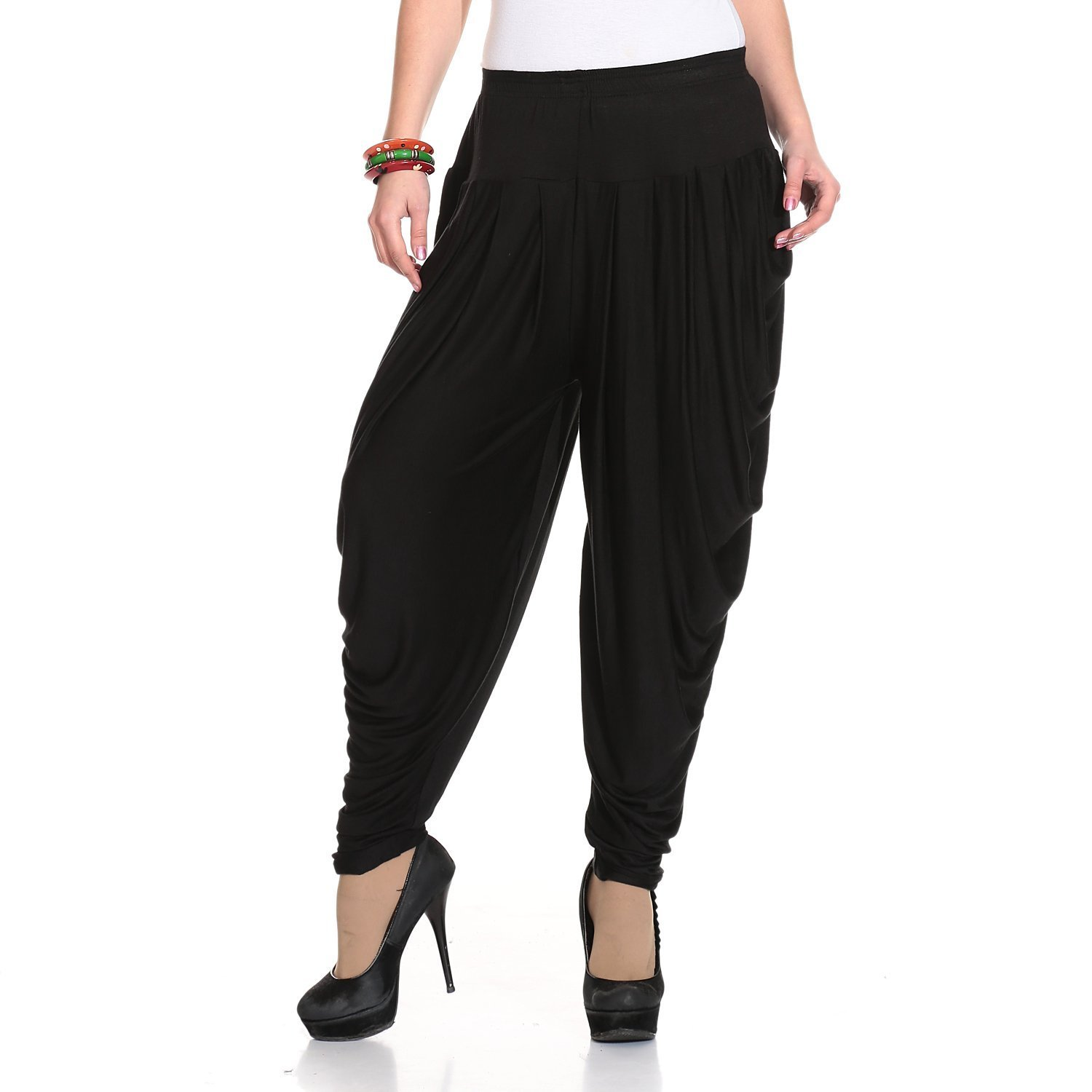 Flat 50% Off On Top Brands In Clothing By Amazon | Legis Lycra Dhoti for Women @ Rs.399