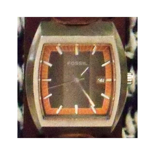 7b1017f1893c4 Nemesis #BN B Brown Wide Leather Cuff Wrist Watch Band on PopScreen