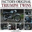 Factory-original Triumph Twins: Speed Twin, Tiger, Thunderbird & Bonneville Models 1938-62