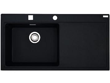 franke mythos mtg 611 onyx granitsp le schwarz sp lbecken. Black Bedroom Furniture Sets. Home Design Ideas