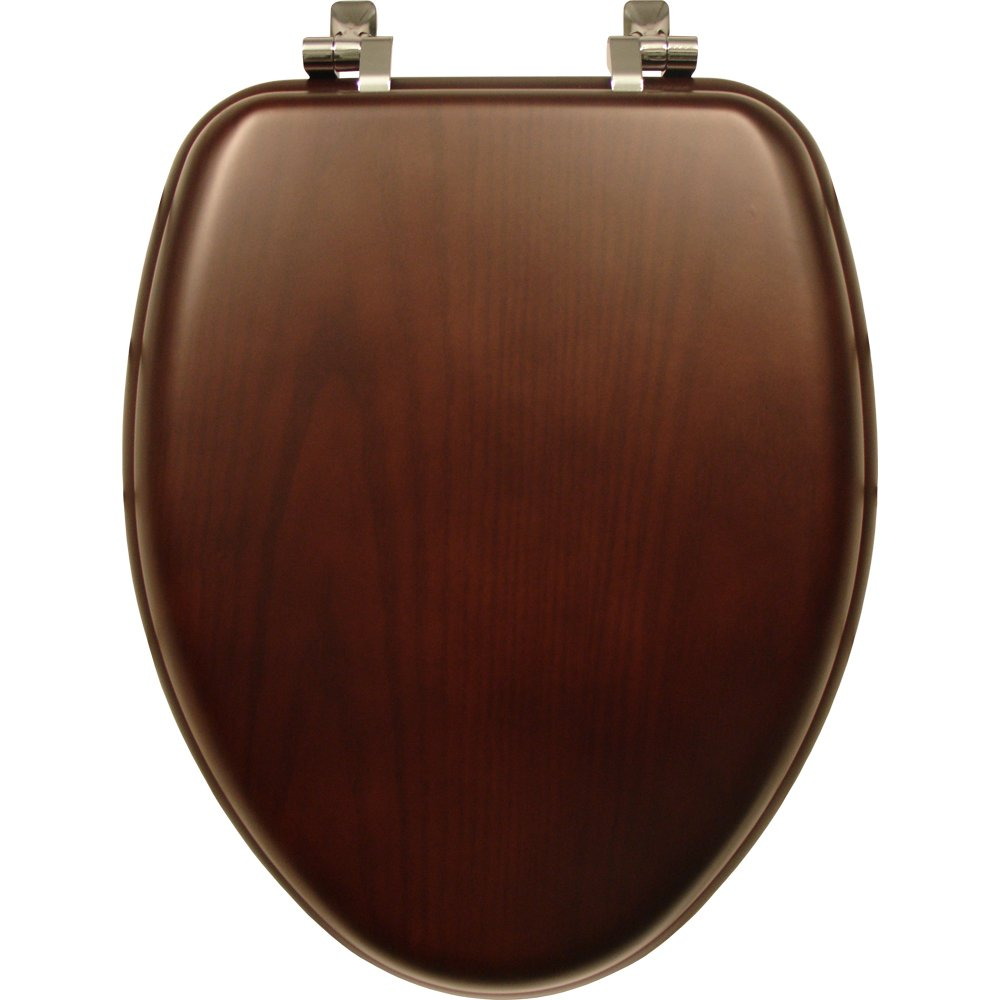 Superbe Elongated Wooden Toilet Seats