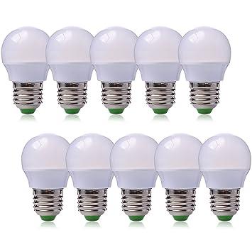 3er Set SMD LED Energie Spar Leuchtmittel 5 Watt EEK A Licht warmweiß Leuchte