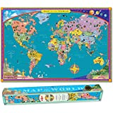 Eeboo World Map - Paper Box