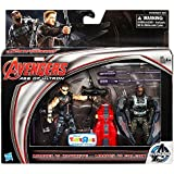 Marvel Avengers Age Of Ultron Movie, Exclusive Hawkeye And Falcon Action Figures, 3.75 Inches
