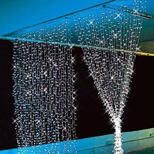 Au Ship! 3Mx3M 300Led Curtain Lights Wedding Party Chrismas Fairy String Lights