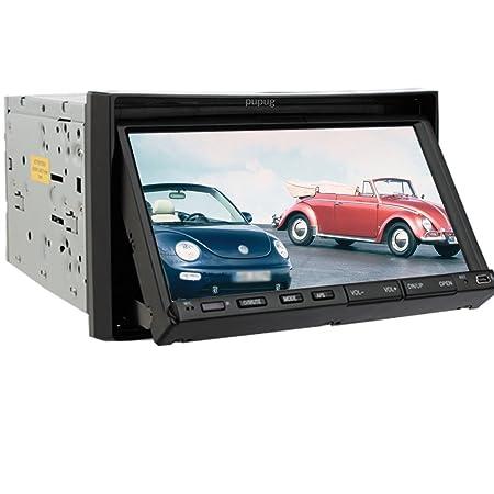 Double Standard 2 Din 7 pouces Lecteur DVD de voiture vidšŠo TV Radio Bluetooth En Dash stšŠršŠo numšŠrique š€ šŠcran tactile glissent entršŠe auxiliaire