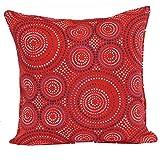 Brentwood Originals 35360 Indoor/Outdoor 17 Inch Toss pillow, Enterprise Red