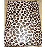 Animal Print Vinyl 52 x 90 Inch Tablecloth by MIDWOOD