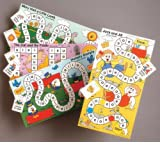 Short & Long Vowels Board Game (Phonics Learning Games)