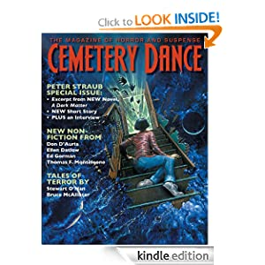 Cemetery Dance: Issue 61 Mathias Clasen, Bruce McAllister, Bev Vincent and Hank Wagner