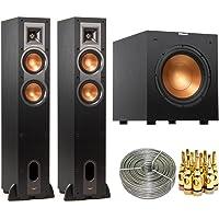 Klipsch R-24F Floorstanding Speaker (Pair) w/ R-10SW 10