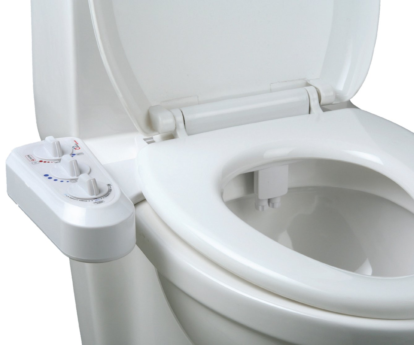 Non Electric Bidet Toilet Seat Cleaning Attachment Hot