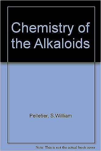 Chemistry of the Alkaloids. written by S. W.%2C Pelletier