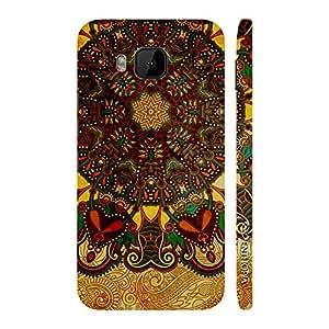 Enthopia Designer Hardshell Case Aztec Earth Back Cover for HTC One M9