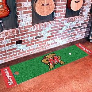 Buy Fanmats Maryland Terrapins Golf Putting Green Runner by Fanmats