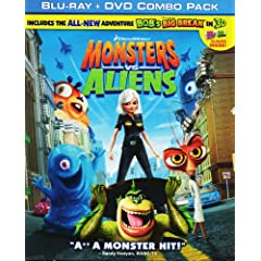 Monsters vs. Aliens (Blu-ray + DVD Combo Pack)