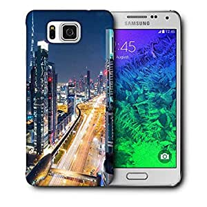 Snoogg Whole City View Printed Protective Phone Back Case Cover For Samsung Galaxy SAMSUNG GALAXY ALPHA