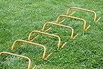 Set di 6 ostacoli per allenamento, al...