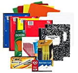 College and High School Supplies: Pens, Pencils, Paper and More Bundle Box