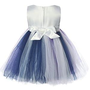 6b062b1d0 CIELARKO Baby Girls Dress Lace Flower Infant Christening Party ...