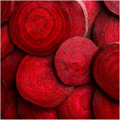 Package of 1,000 Seeds, Bull's Blood Beetroot (Beta vulgaris) Non-GMO Seeds By Seed Needs