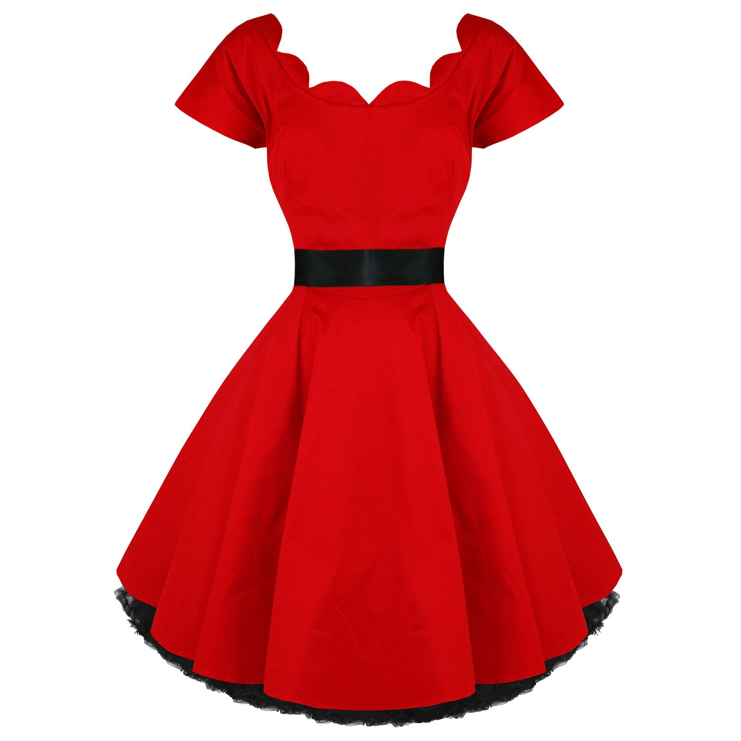 Hearts and Roses 50s Dress