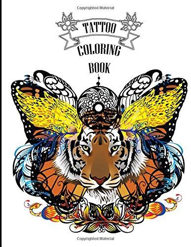 Tattoo Coloring Book: Creative Body Art Coloring Book