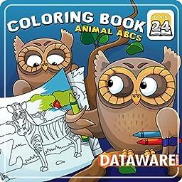 Coloring Book 24: Animal ABCs [Download]