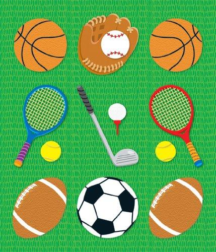 Carson Dellosa Sports Prize Pack Stickers (168045) - 1