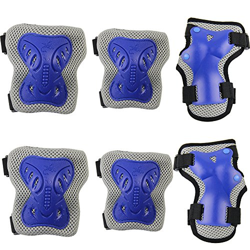 pamase-cycling-roller-skating-knee-pads-wrist-elbow-protective-blading-blades-pad-knee-guards-set-fo